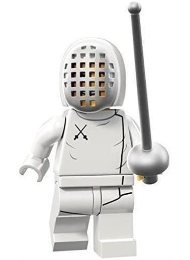 Lego Lego Minifigür - Seri 13 - 71008 - Fechter Renkli
